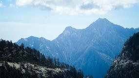 Montagne bleue Photographie stock