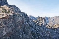 Montagne bleue Photo stock