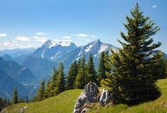 Montagne blu Immagini Stock