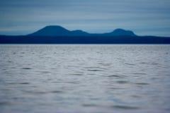 Montagne blu Immagini Stock Libere da Diritti
