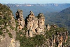 Montagne blu Australia Fotografia Stock Libera da Diritti