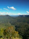Montagne blu Australia Fotografia Stock
