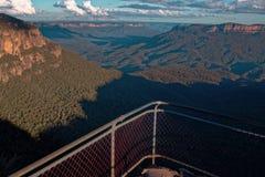 Montagne blu Australia dell'allerta della montagna Immagine Stock Libera da Diritti