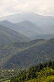 Montagne boscose, Bulgaria Fotografia Stock Libera da Diritti