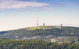 Montagne Brocken, Allemagne Photo libre de droits