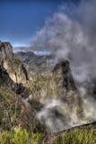 Montagne brumeuse Photo libre de droits