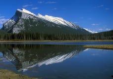 Montagne Canada delle Montagne Rocciose Fotografie Stock