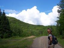 Montagne canadesi Fotografie Stock