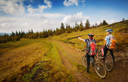 Montagne carpathienne Photographie stock libre de droits