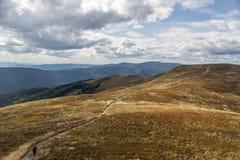 Montagne carpathienne en Pologne Photographie stock