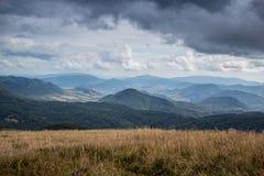 Montagne carpathienne en Pologne Images libres de droits