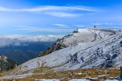 Montagne carpatiche, Romania Fotografie Stock Libere da Diritti