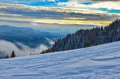 Montagne carpatiche, Romania Immagini Stock