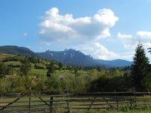 Montagne carpatiche rumene Fotografia Stock Libera da Diritti