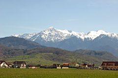 Montagne carpatiche rumene: Bucegi Fotografia Stock Libera da Diritti