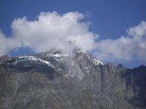 Montagne caucasiche Fotografia Stock Libera da Diritti