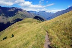Montagne caucasiche selvagge Fotografia Stock Libera da Diritti