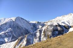 Montagne caucasienne Photo libre de droits