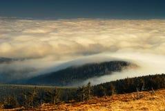 Montagne ceche, inversione III Fotografia Stock Libera da Diritti