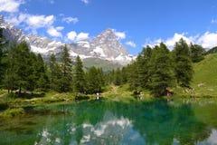 Montagne Cervino Images libres de droits