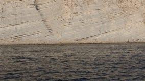 Montagne chauve de roche de côte de la Mer Noire clips vidéos