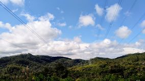 Montagne che compongono la bellezza brasiliana immagini stock libere da diritti