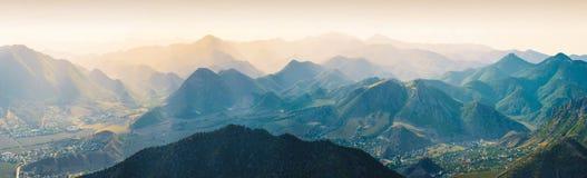 Montagne cinesi Immagini Stock