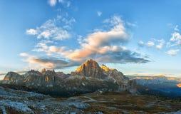 Montagne Cinque Torri Photo libre de droits