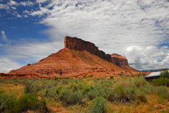 Montagne in Colorado Fotografie Stock