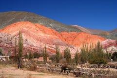 Montagne Colourful immagini stock