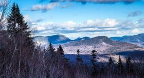 Montagne congelate immagini stock libere da diritti
