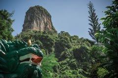 Montagne correcte de Talu Photographie stock