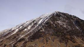 Montagne couverte par neige Photo libre de droits