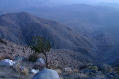 Montagne crepuscolari Immagini Stock