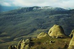 Montagne criméenne Photographie stock