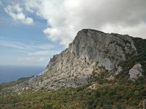 montagne in Crimea Fotografia Stock