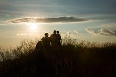 Montagne d'éléphant ou montagne de galaxie PA nationale de Pha Phum de lanière Images stock