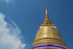 Montagne d'or Photos libres de droits