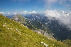 Montagne d'ADAC, Slovénie Photos libres de droits