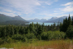Montagne d'Alasca Immagine Stock Libera da Diritti