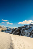 Montagne d'Alpes Photo stock