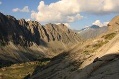 Montagne d'Altai en été Photographie stock libre de droits