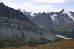 Montagne d'Altai en été Image libre de droits