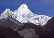 Montagne d'Ama Dablam Photographie stock