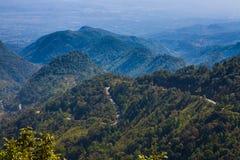 Montagne d'Angkhang, Chiangmai Thaïlande Photographie stock libre de droits