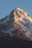 montagne d'annapurna Image libre de droits