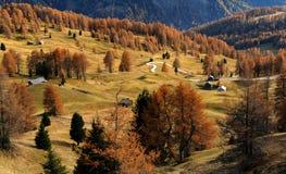 Montagne d'automne Photo libre de droits