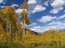 Montagne d'automne photographie stock