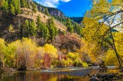 Montagne d'automne Photos stock