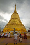 Montagne d'or de pagoda Image stock
